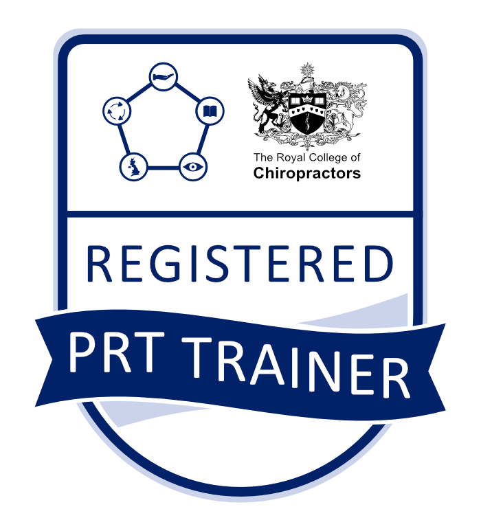 The Royal College of Chiropractors Registered PRT Trainer Icon